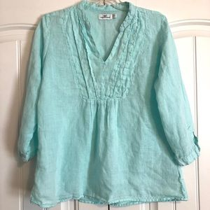 Vineyard Vines linen tunic